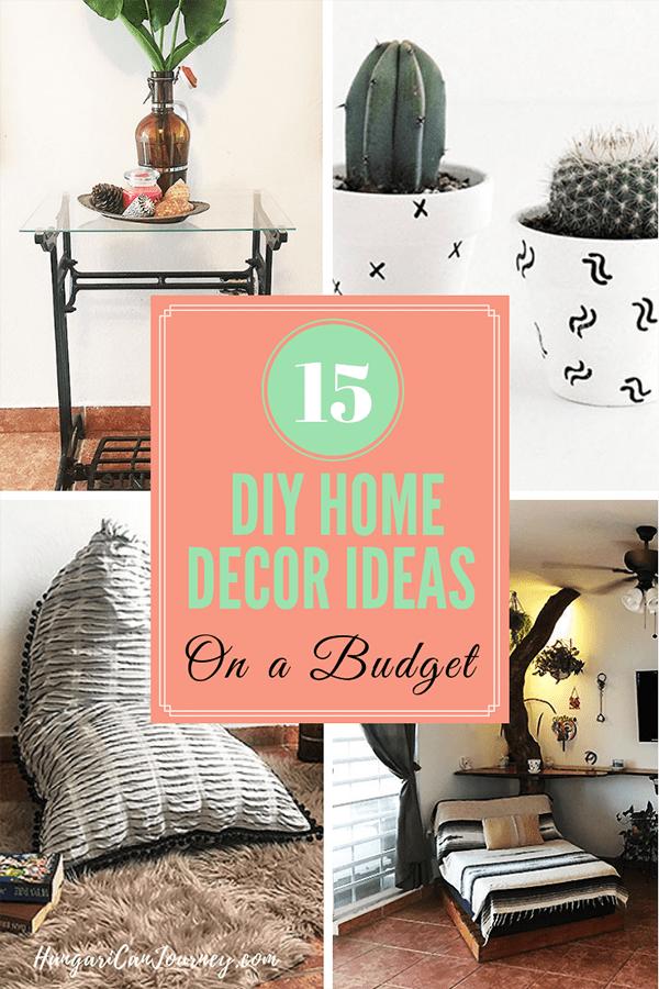 DIY home decor tips
