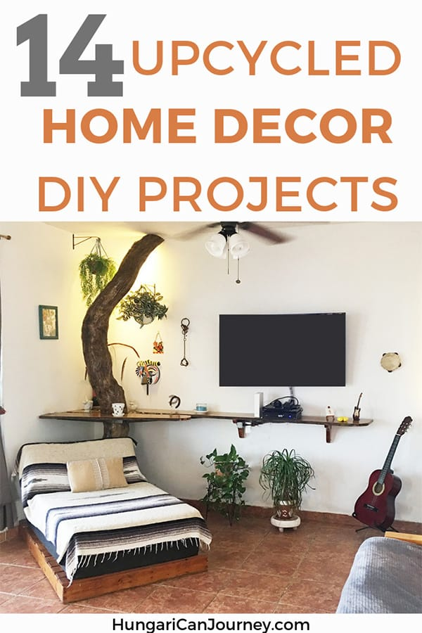 DIY Upcycled Home Decor project. Re-purpose pallets, driftwood and old furniture