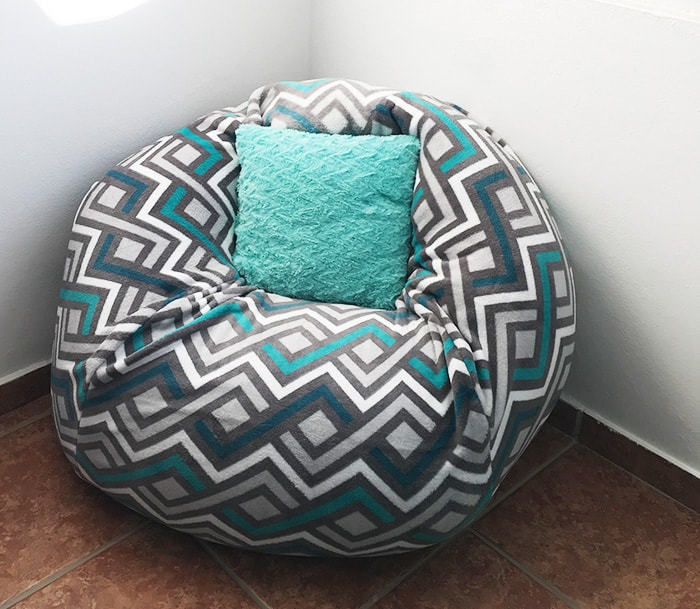 How To Make A Bean Bag Chair Out Of Old Blankets Learn To Create