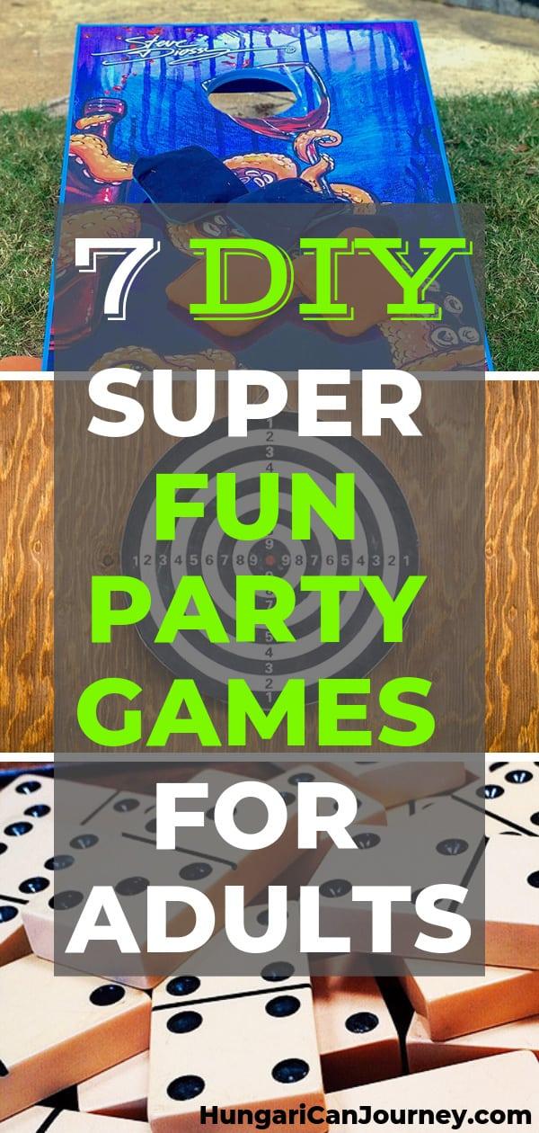 7 DIY fun backyard games for adults