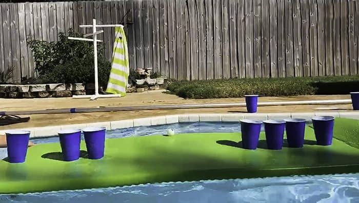 DIY foam adult yard games