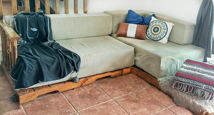 pallet sofa bed
