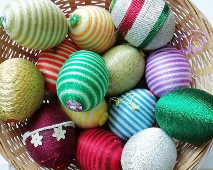 colorful Easter Egg DIY craft