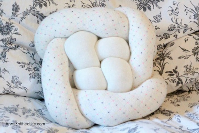 how to decorate with upcycled sweaters