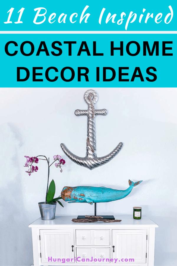 coastal living decoration on a budget