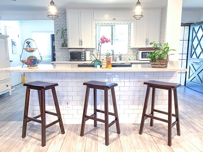 how to layout subway tile