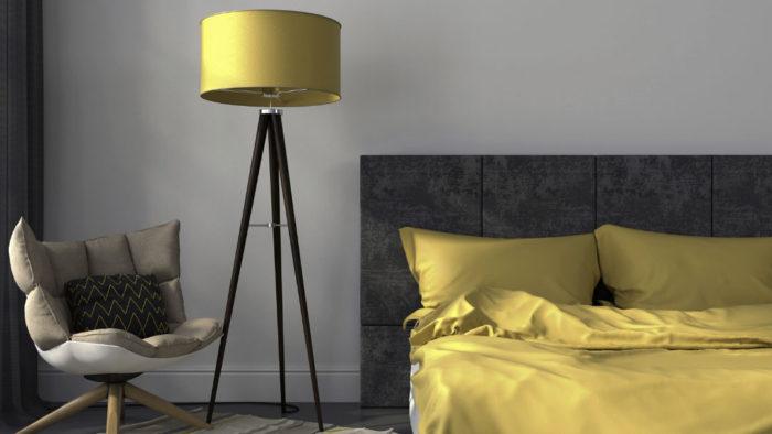 mustard colour bedroom accessories