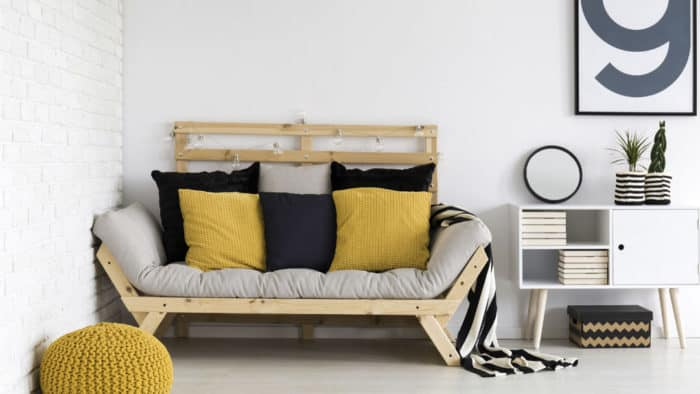 yellow and grey room ideas