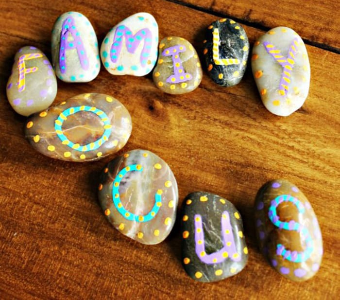 painted rocks project