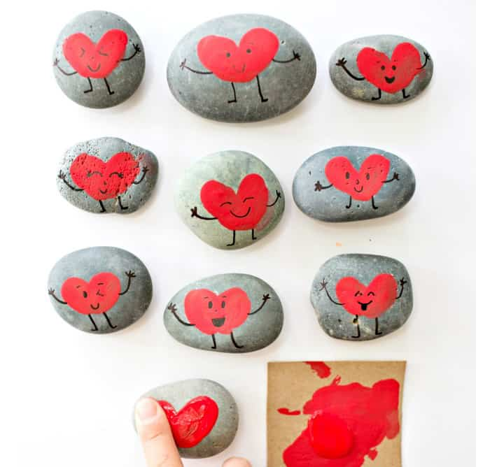 how to seal painted rocks for outdoors