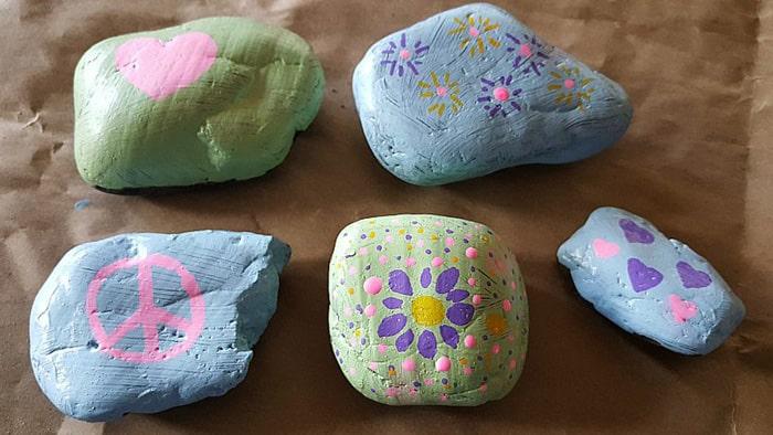 painted rocks patterns