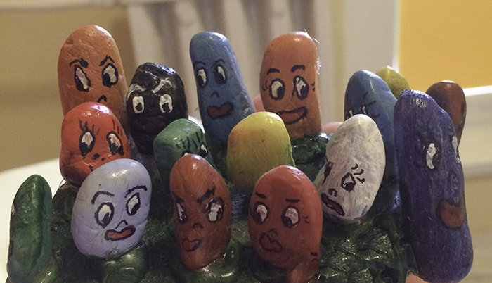 rock painted creative tips