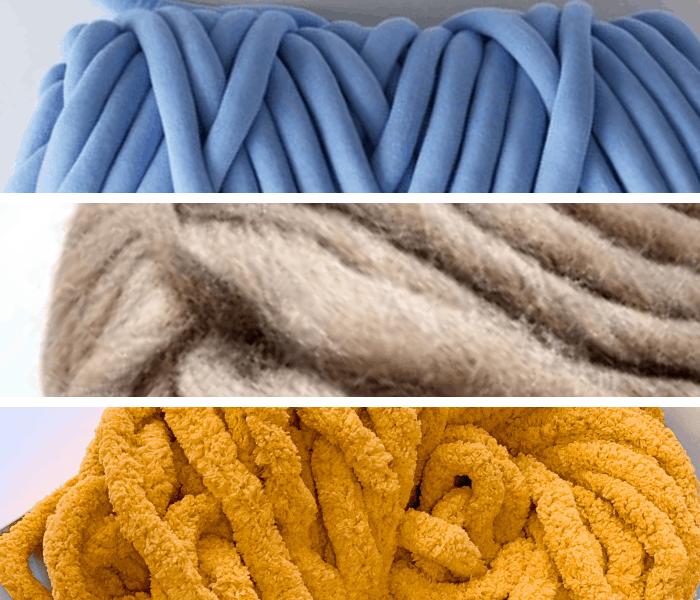 giant yarn for arm knitting