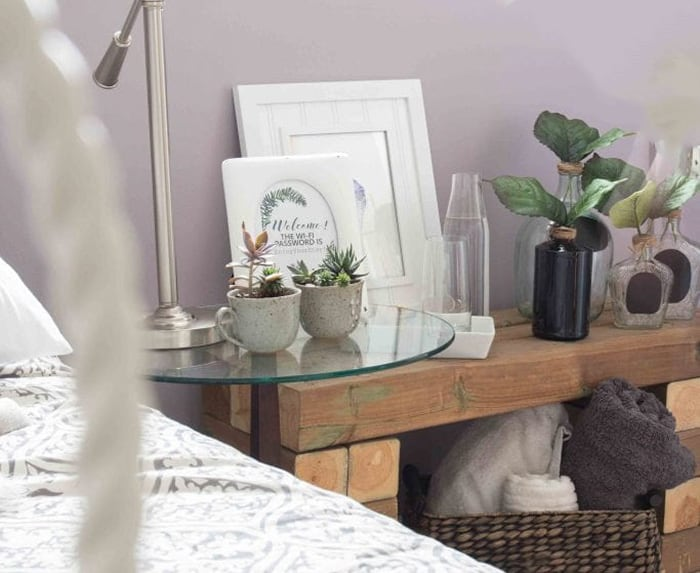 decorating with thrift store finds