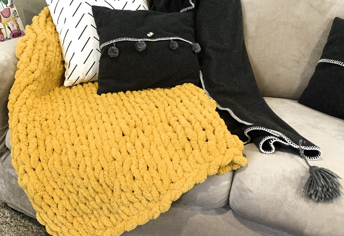 hand made blanket tutorial
