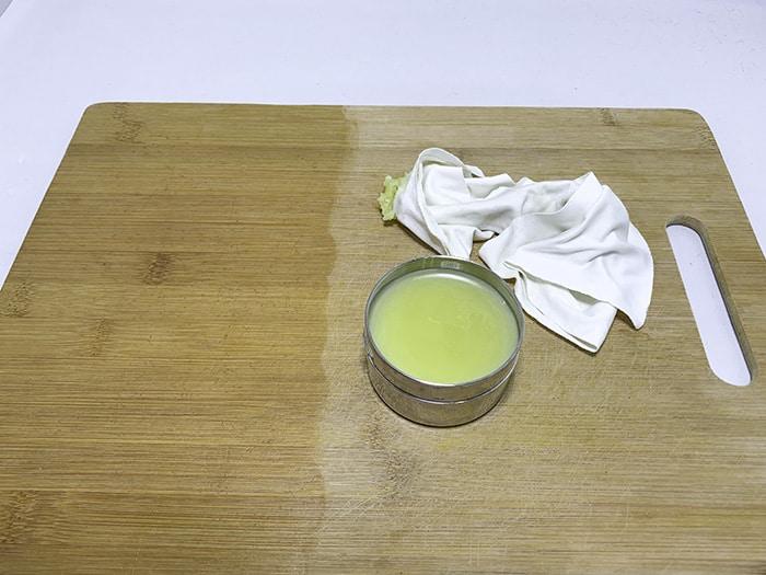 homemade beeswax furniture polish recipe