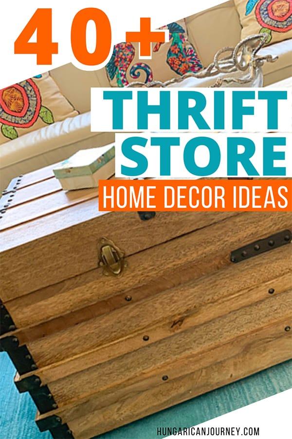 DIY goodwill home decor tips
