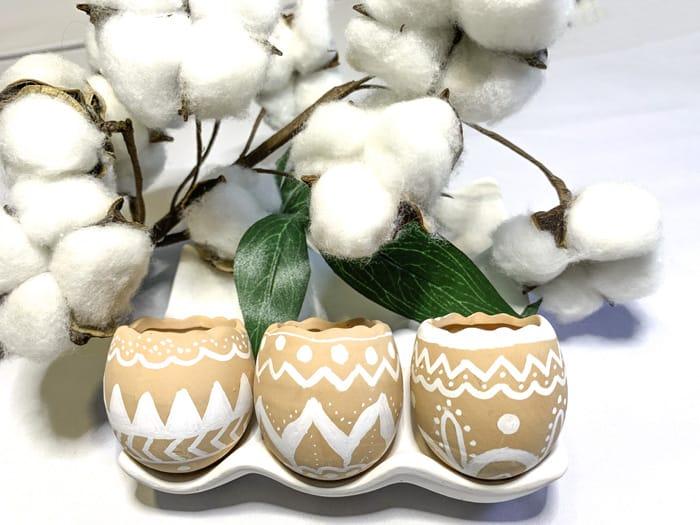 cute painted flower pots