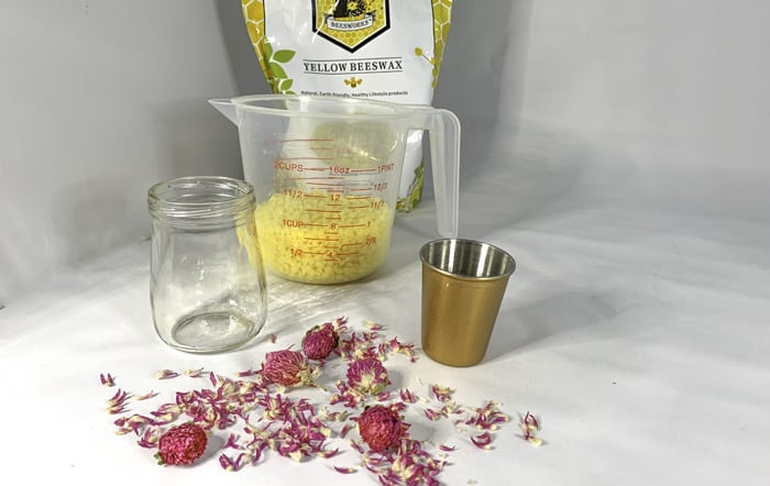 beeswax candles make your own