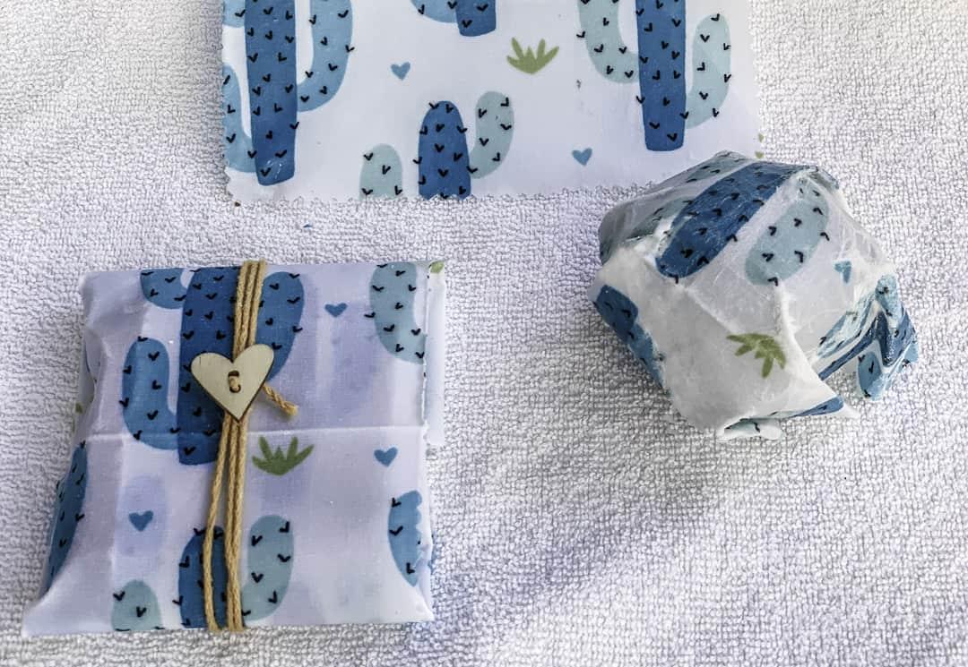 make your own DIY vegan wax wraps with this zero waste craft kit Vegan Wax Wrap Gift Kit
