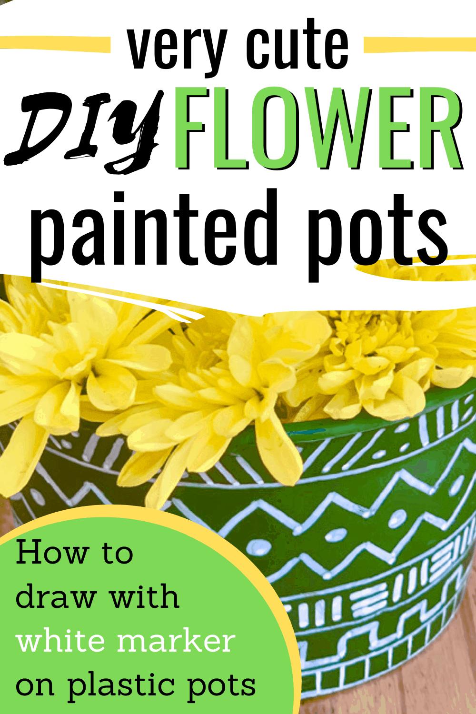paint ideas for plant pots