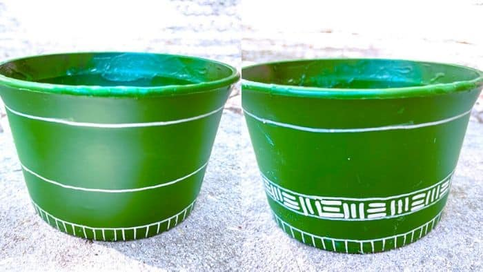ideas for painting pots