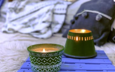 How to make citronella candle with organic ingredients