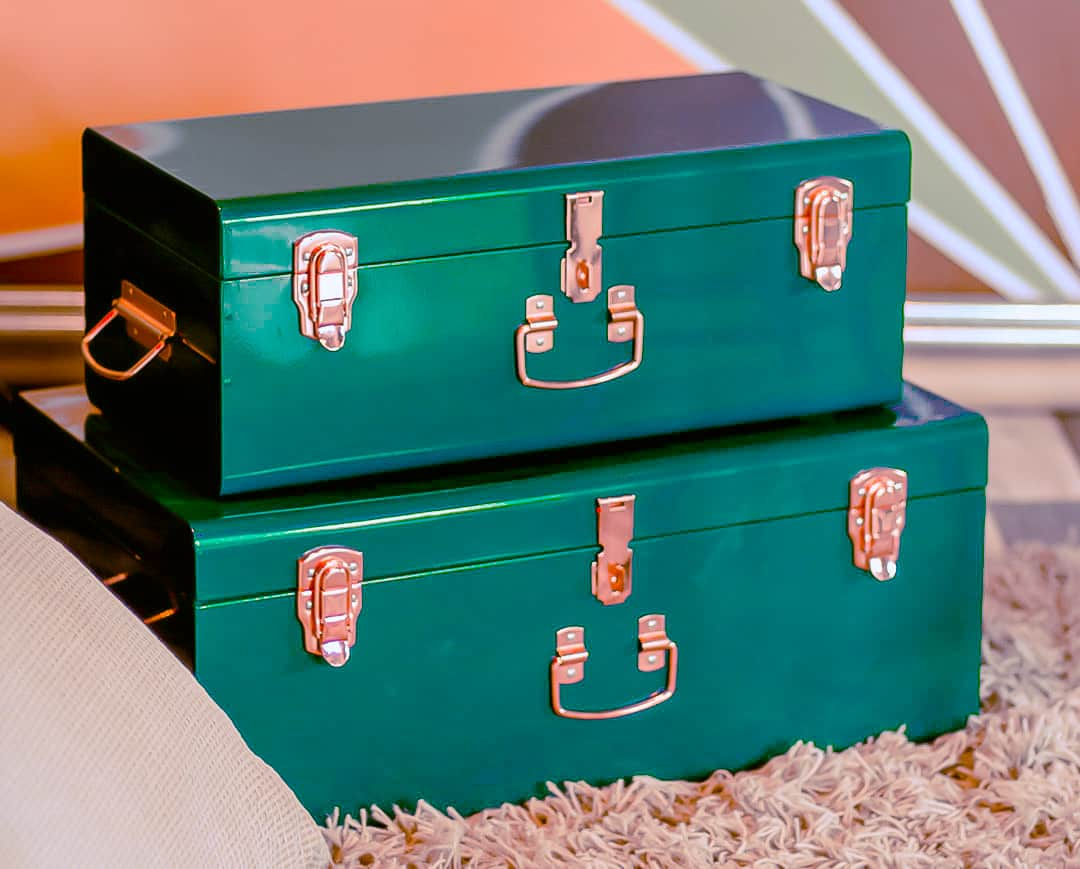 storage boxes diy