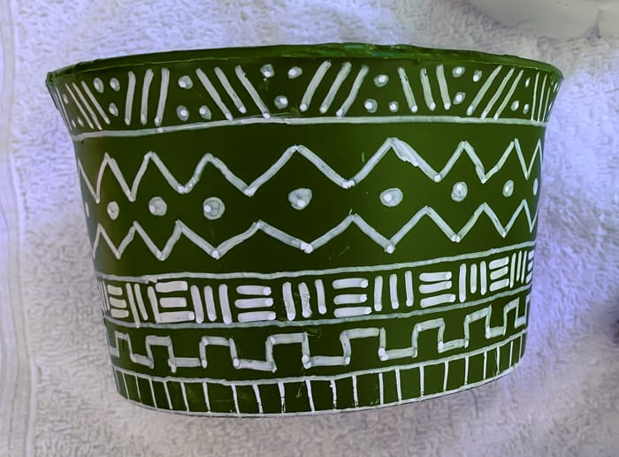design of pots painting