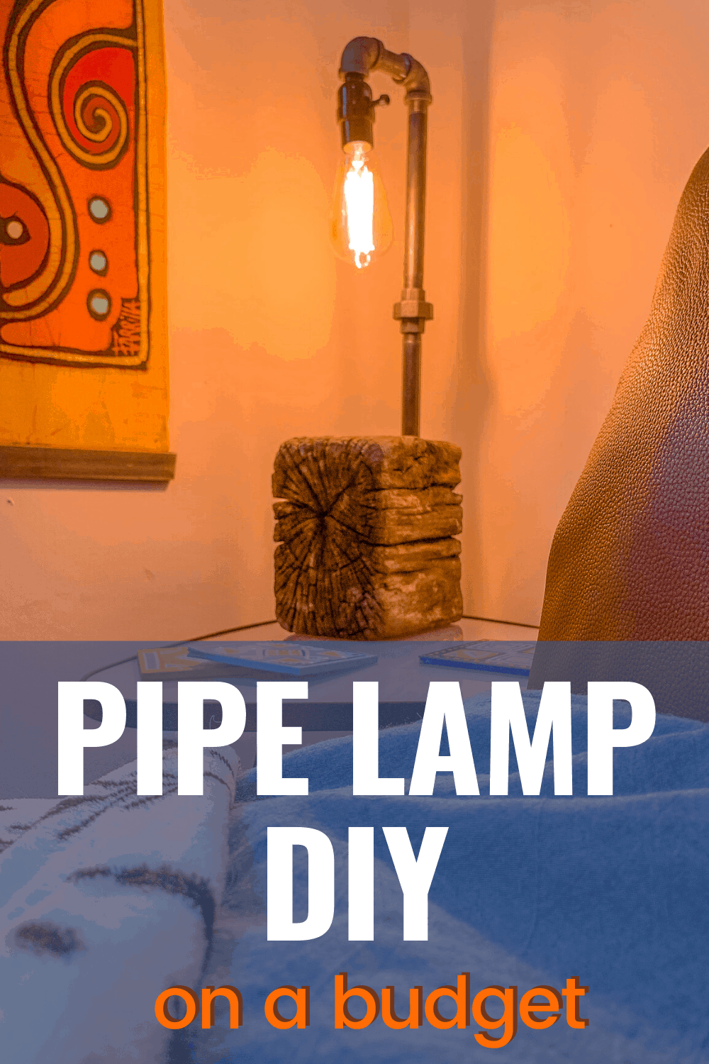 how to make an industrial lamp