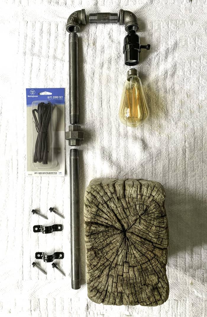 steampunk lamp plans