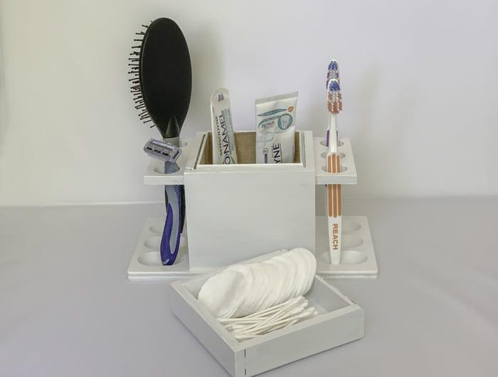 toothbrush holder homemade