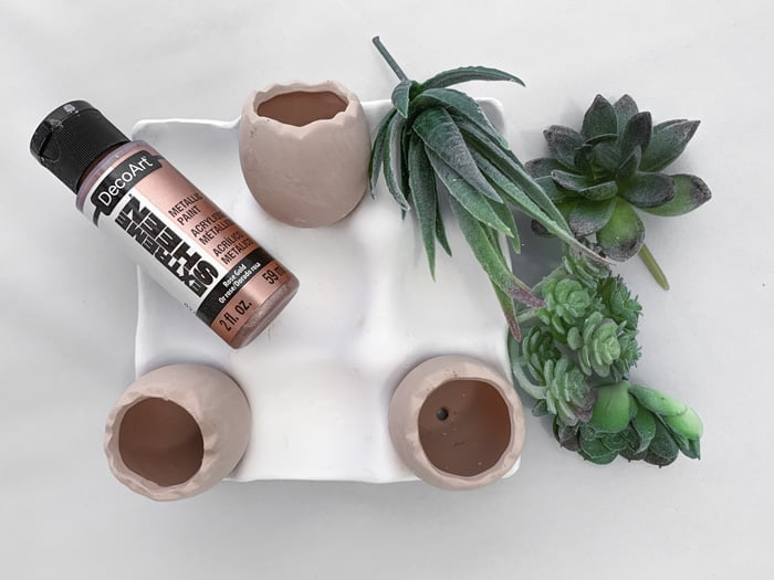 what you need to paint terracotta pots