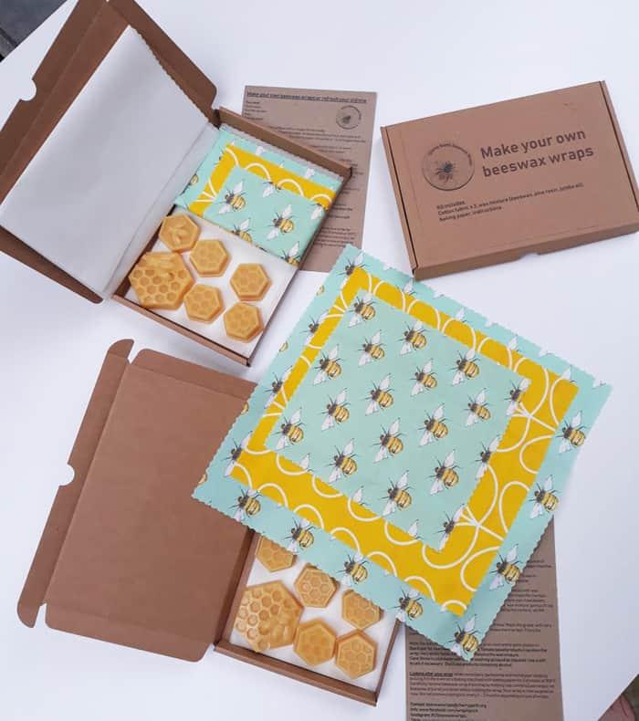 beeswax wrap craft kit idea