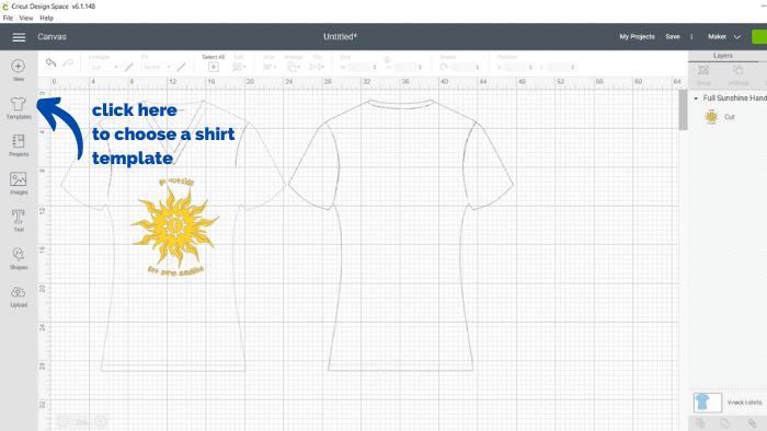 fabricant de t-shirt cricut