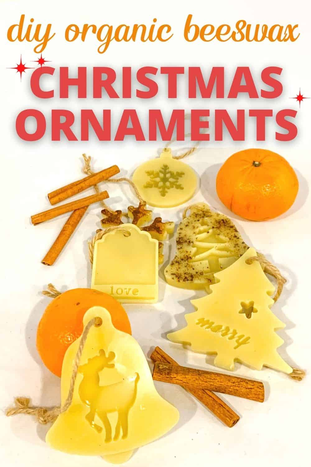 beeswax ornament craft PIN