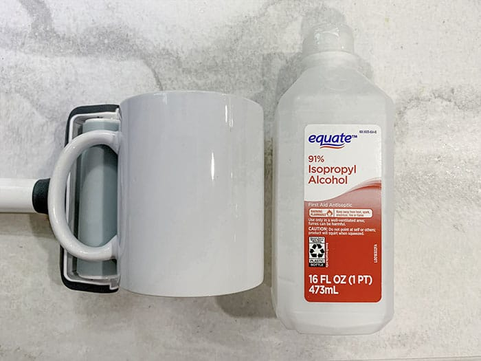 how to design mug in Design Space