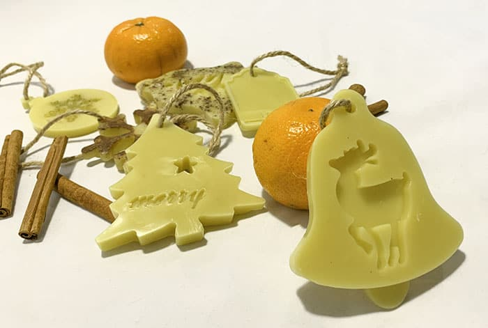 beeswax ornaments craft tutorial
